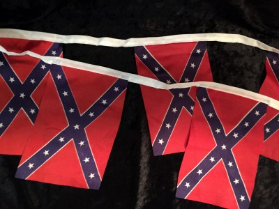 Confederate string flags