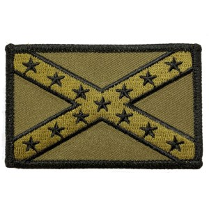 Tactical confederate naval jack patch