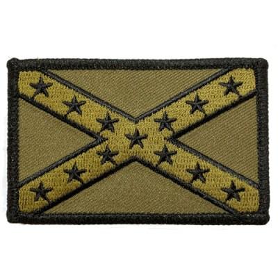 Tactical confederate naval jack patch
