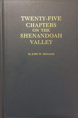 history of the shenandoah valley