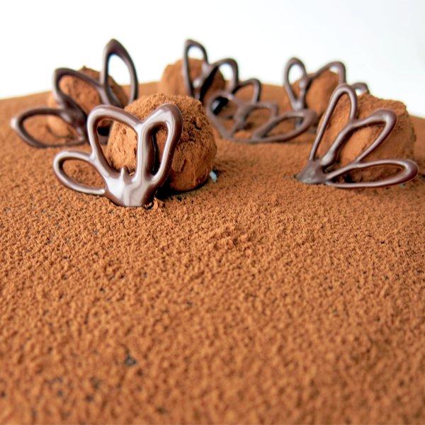 Torta Trufada - Detalhe