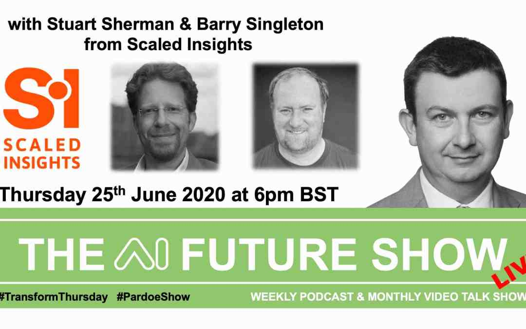 THE AI FUTURE SHOW – Live Talk on Thursday 25th June 6pm BST