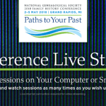 Conference Live Stream Registration Now Open