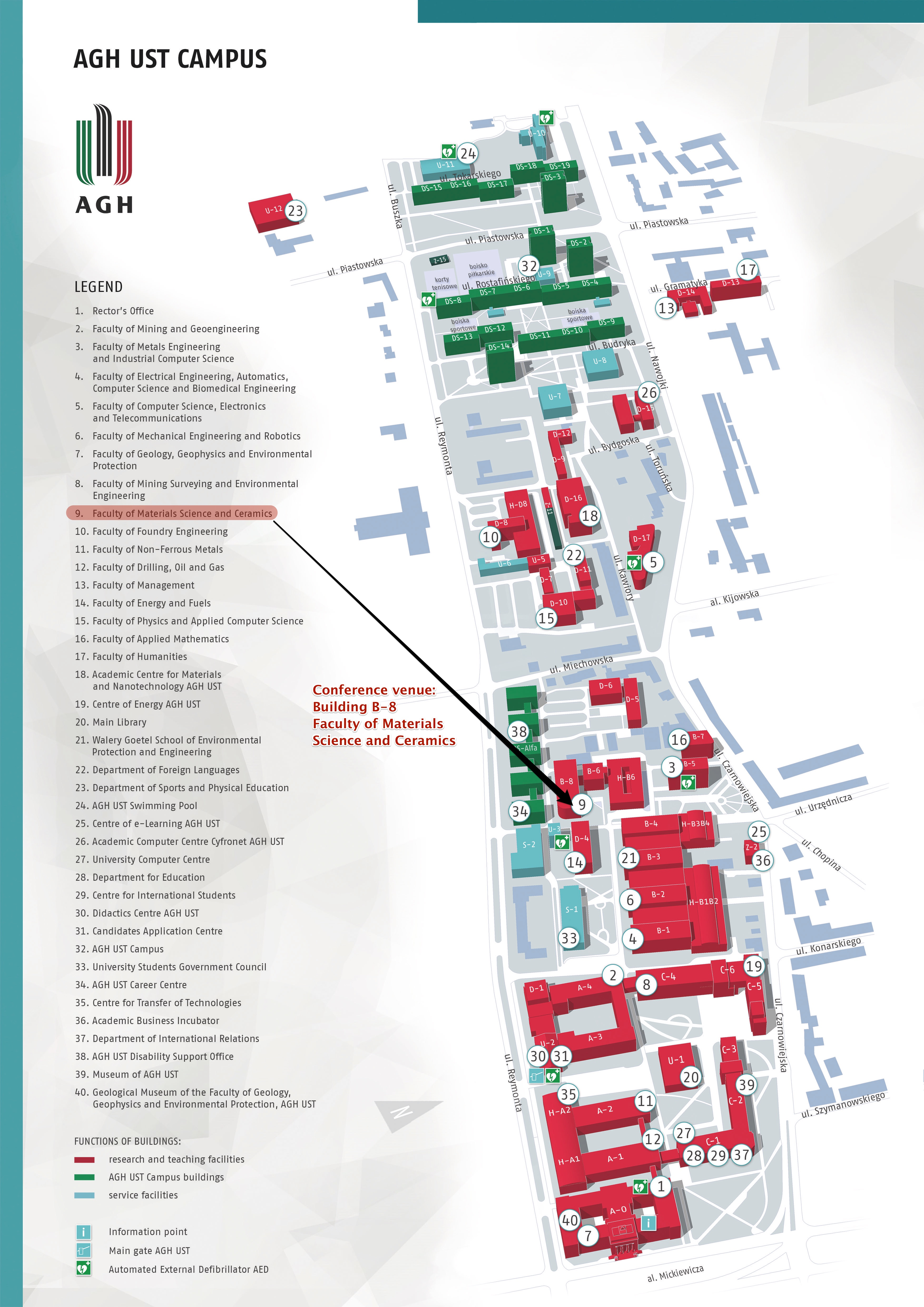 Ust Campus Map : campus, About, Venue, Global