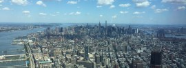 New York City from the top of the Freedom Tower
