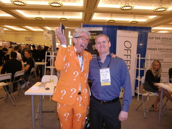Matthew Lesko and Hunter Boyle at Affiliate Summit