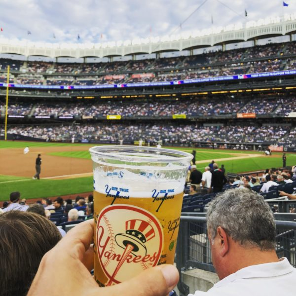 New York Yankees game after Affiliate Summit East 2018
