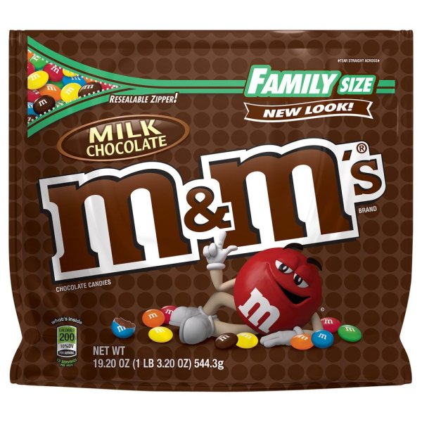 M&M's Family Size