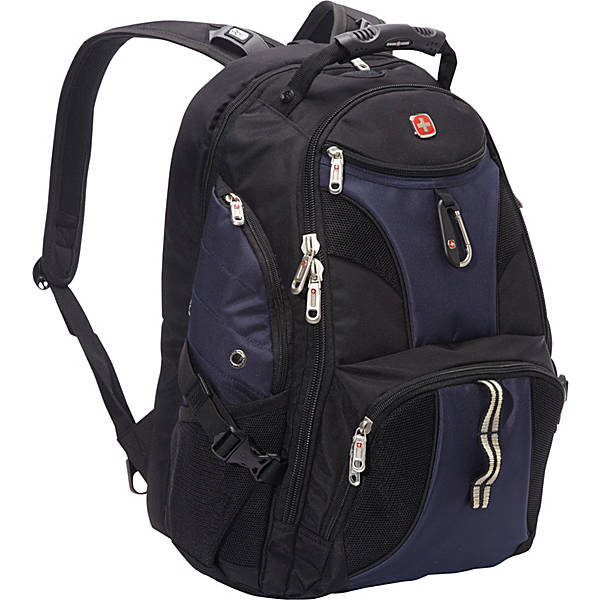 SwissGear Travel Gear 1900 Scansmart TSA Friendly Laptop Backpack 19 inch Blue