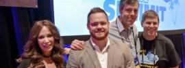 Missy Ward, Sean Dolan, Timothy Edwards, and Shawn Collins at Affiliate Summit West 2017