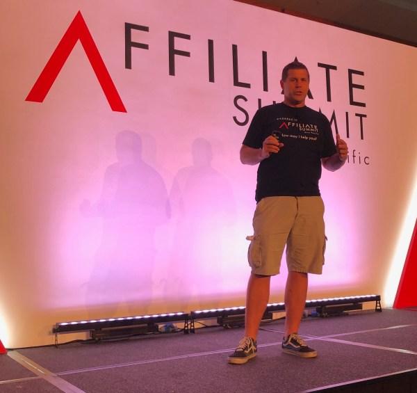 Shawn Collins speaking at Affiliate Summit APAC 2019
