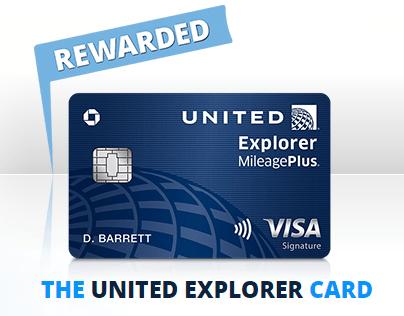 United Explorer Card 40 000 Bonus Miles