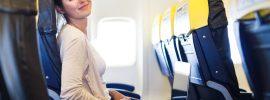 Nice airline passenger