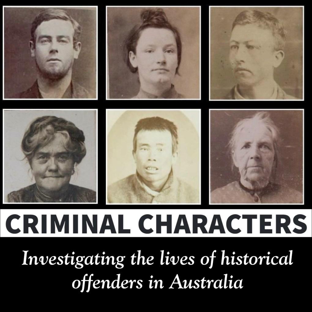 Genealogy Volunteer Opportunity - Criminal Characters