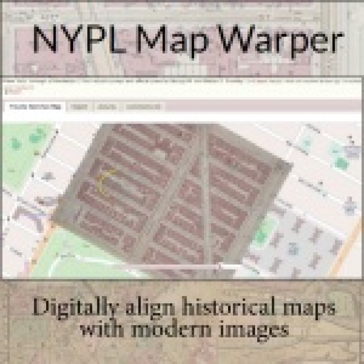 NYPL Map Warper
