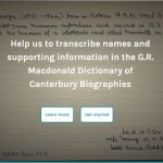 Canterbury Biographies