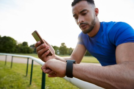Runner Tracking with Fitbit