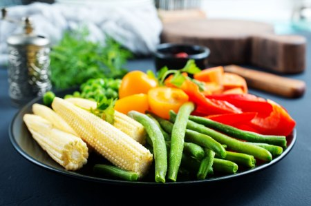 variety of vegetables on a plate