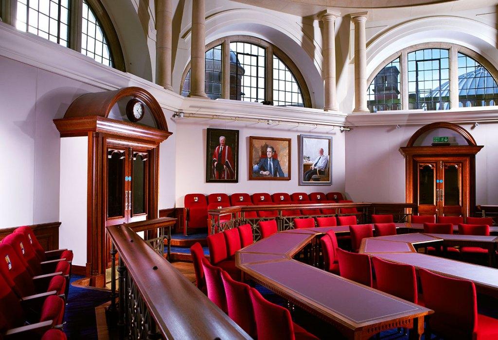The Senate Chamber Interior