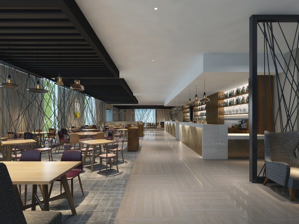 An artist's impression of how the bar might look