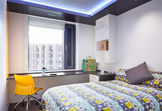 chamberlain bedroom