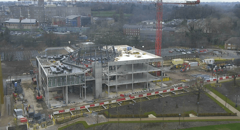 Teaching and Learning Building - work underway
