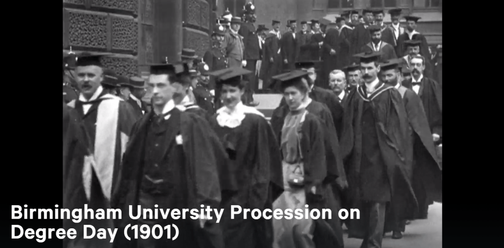 Degree day 1901