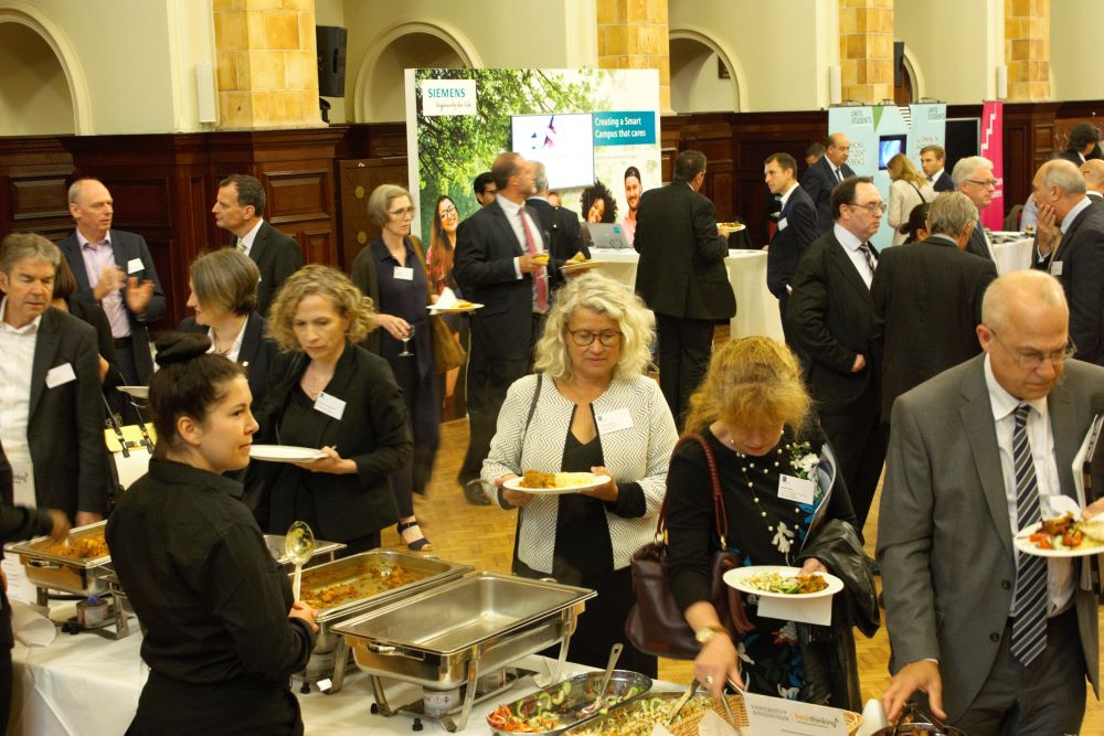 UUK catering and exhibition in the Great Hall