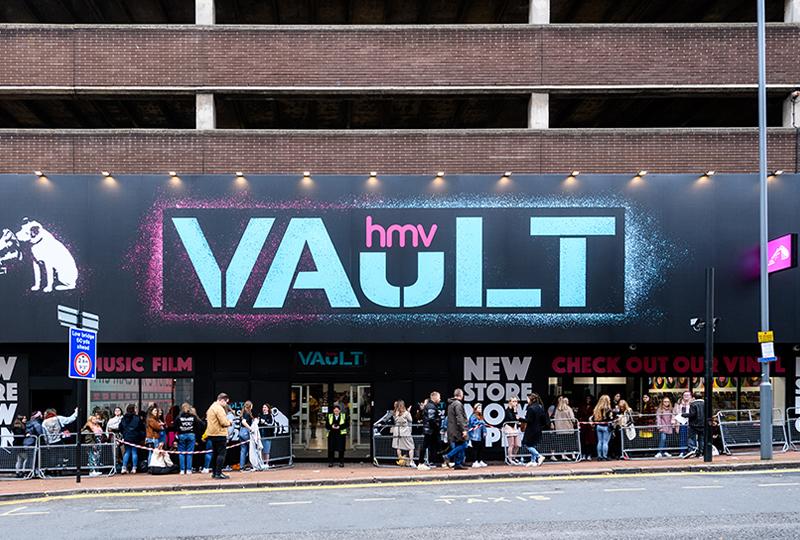 HMV Vaut Birmingham