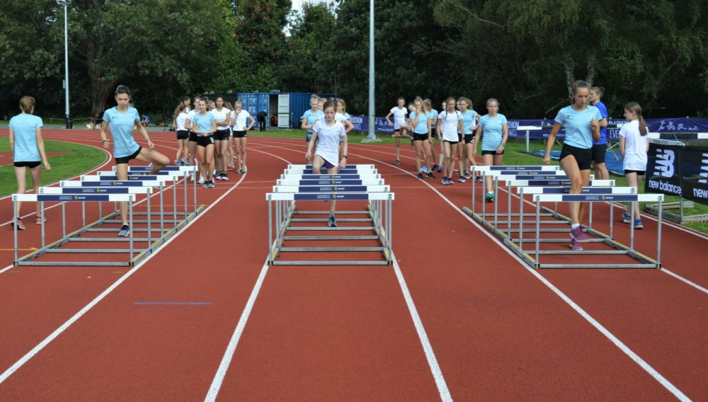 London Marathon Young Athletes Camp at University of Birmingham