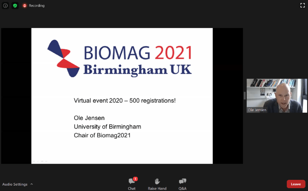 Biomag 2020 virtual event