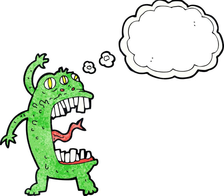 This image has an empty alt attribute; its file name is cartoon-crazy-monster-with-thought-bubble-vector-5675091-e1549559418852.jpg
