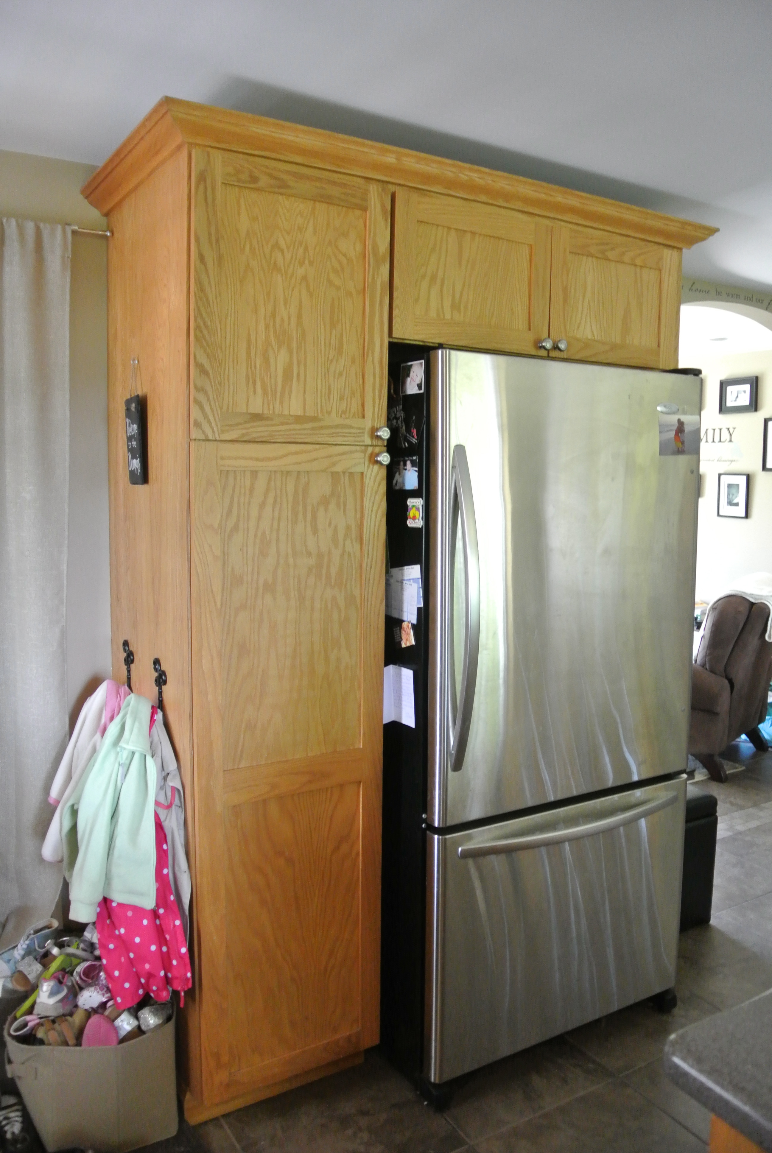 My Mini Kitchen Renovation  Confessions of a Blonde Mom