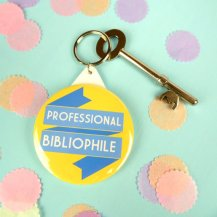 Professional Bibliophile Keyring