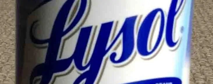 lysol cleaning product