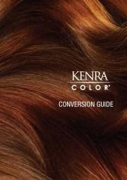 kenra haircolor conversion guide