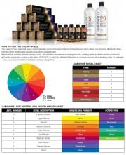 joico lumishine color swatch chart