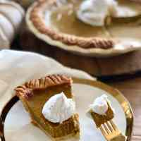 Healthy Pumpkin Pie [Gluten-free | Dairy-free | 21 Day Fix]