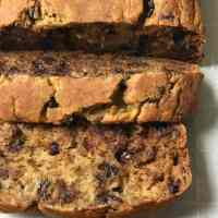 Healthy Banana Bread | Gluten Free Banana Bread