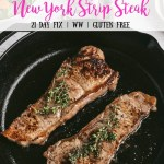 How To Make New York Strip Steak Confessions Of A Fit Foodie