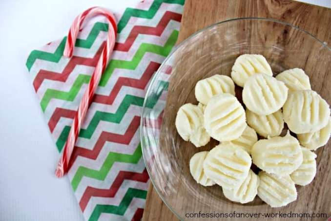 Homemade Candy Recipes | Buttercream Mint Candy Recipe
