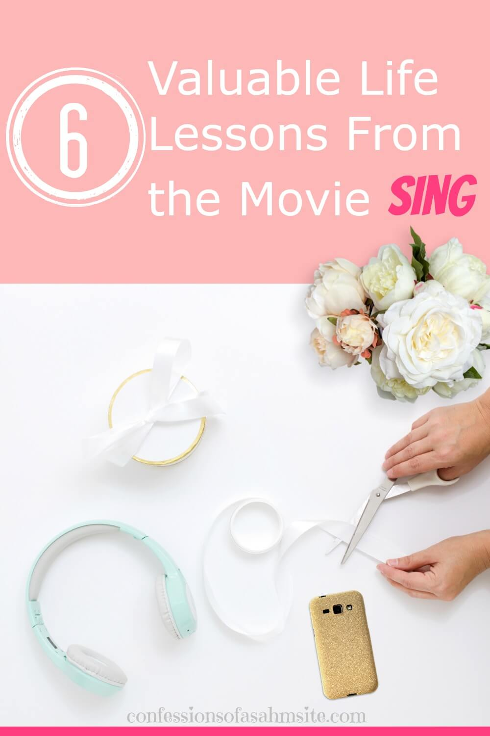 6 Valuable Life Lessons From the Movie Sing. Although it's a kid's movie, as adults we can learn quite a bit from this movie. Read what lessons I learned from watching it.