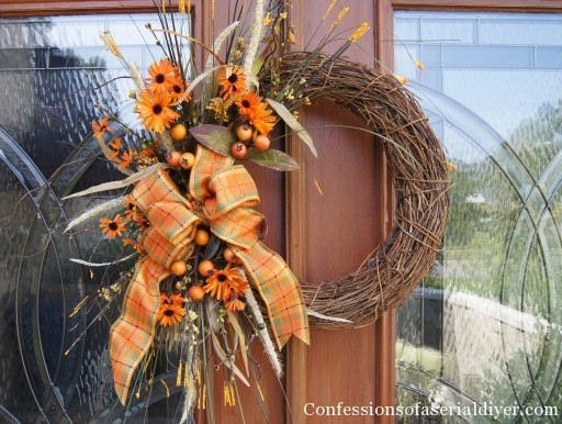 Fall Wreath  Confessions Of A Serial Doityourselfer