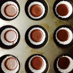 Chocolate in lining