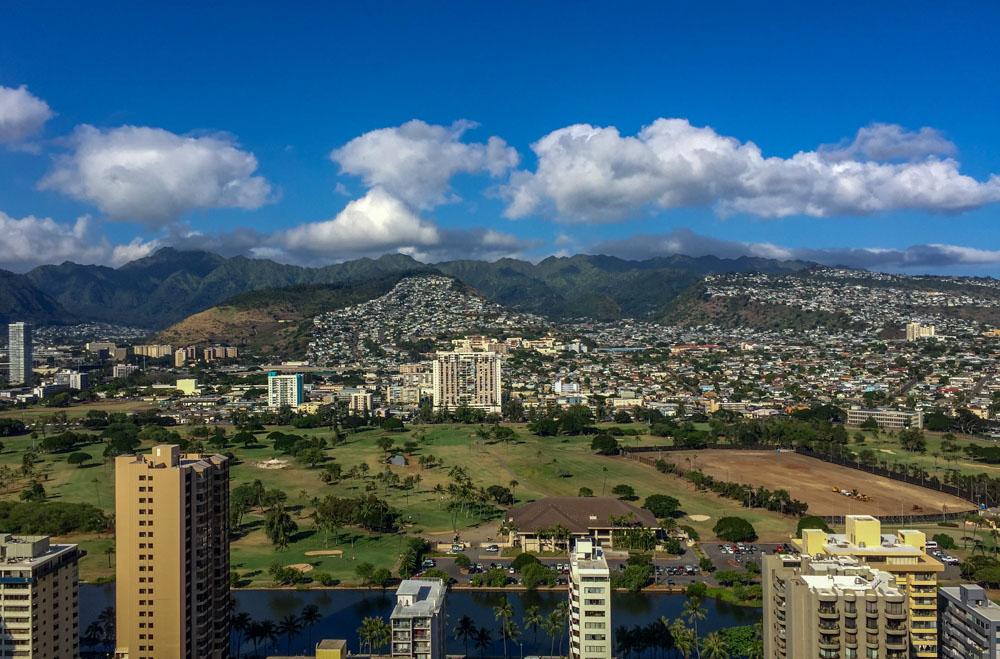 Hilton Waikiki Beach Mountain View Hawaiian Islands - Oahu
