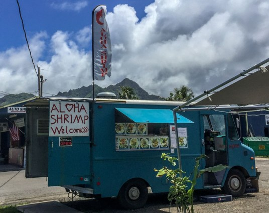 Aloha Shrimp Truck Hawaiian Islands - Oahu Confessions of a travaholic
