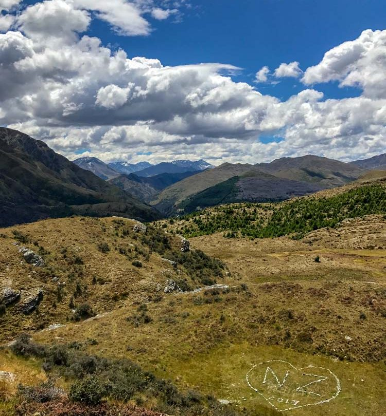 Queenstown Hill Mountains Highlights of New Zealand
