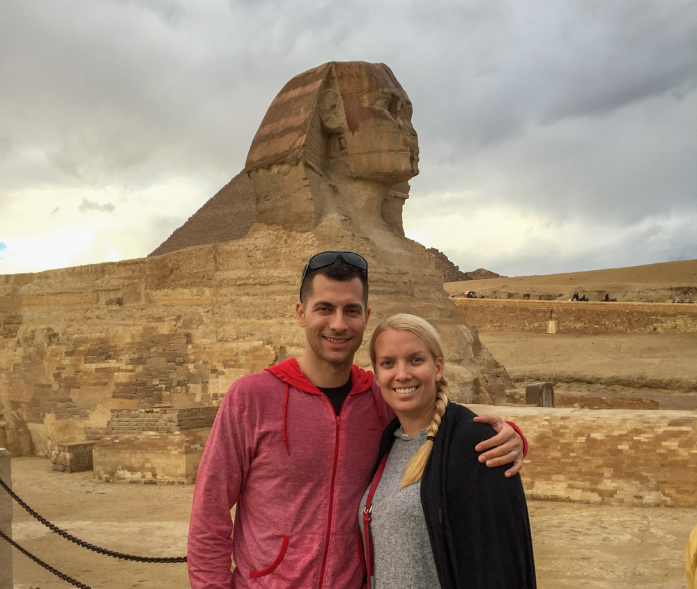 Dayover in Cairo, Giza, Great Sphinx