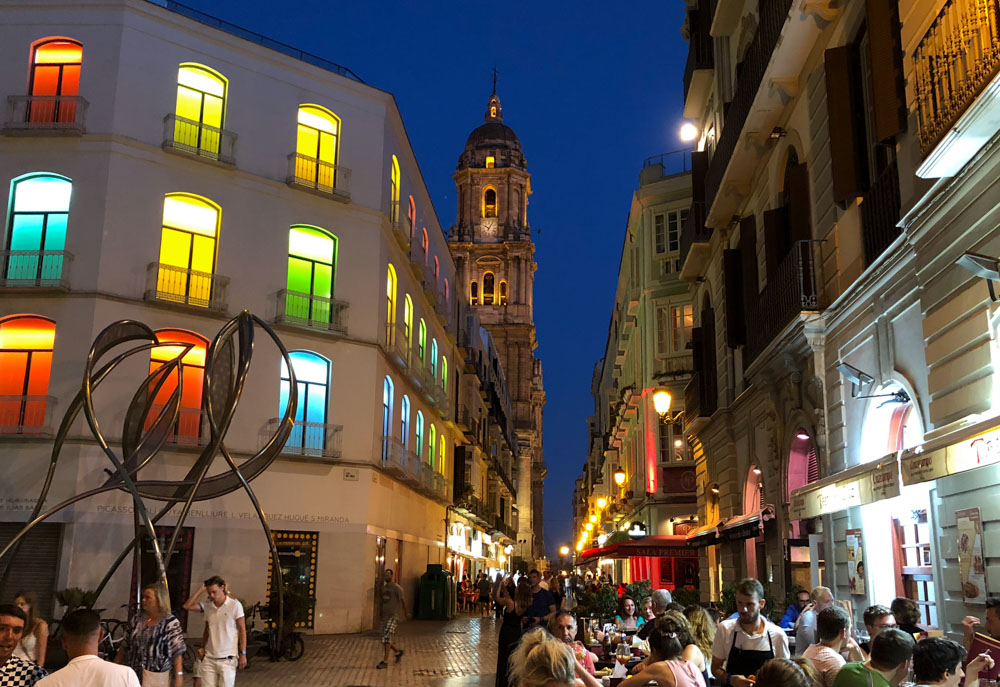 Andalusia, Spain Confessions of a Travaholic Malaga Old Town at Night