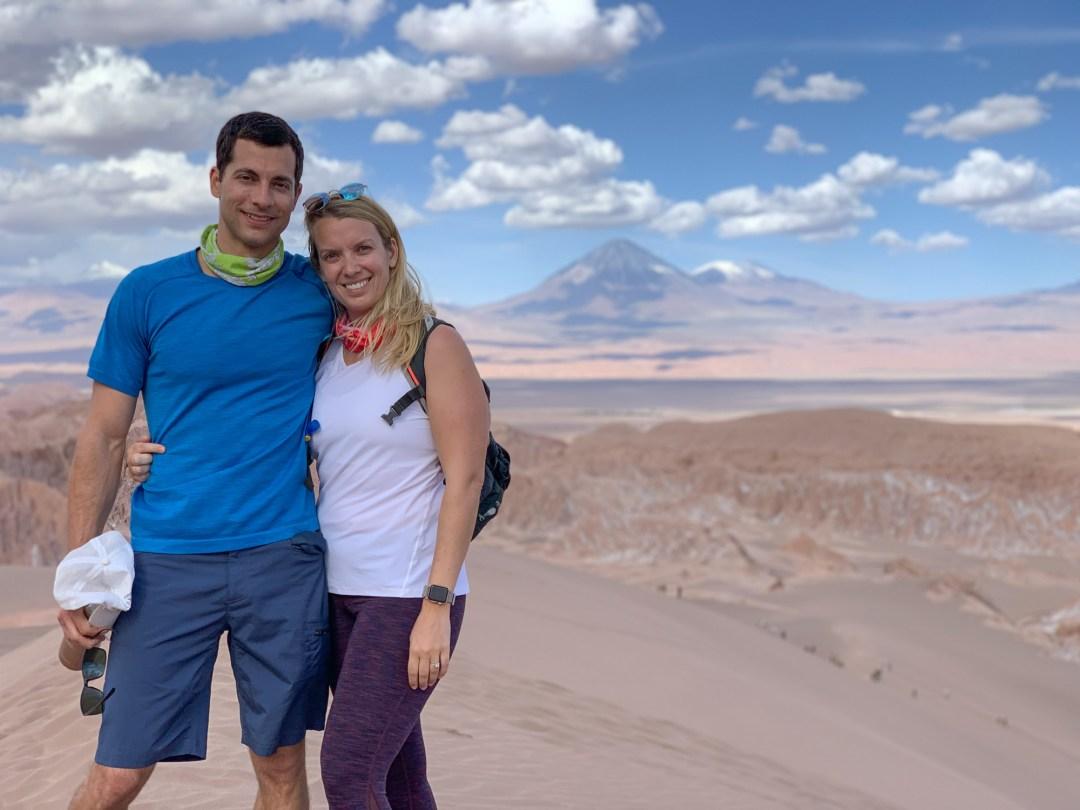 Atacama Desert Cornisas Hike Mars Valley
